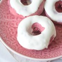 Red Velvet Cream Cheese Donuts