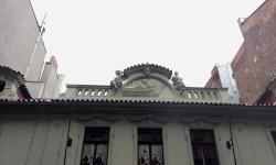 A photo of the facade of the House of the Golden Ship - Prague, Czech Republic