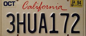 California License Plates To Go Digital? The Age Of Goatse Plates Is Here