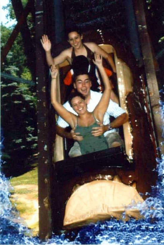 Hot Girl Boobs Grabbed On Roller Coaster