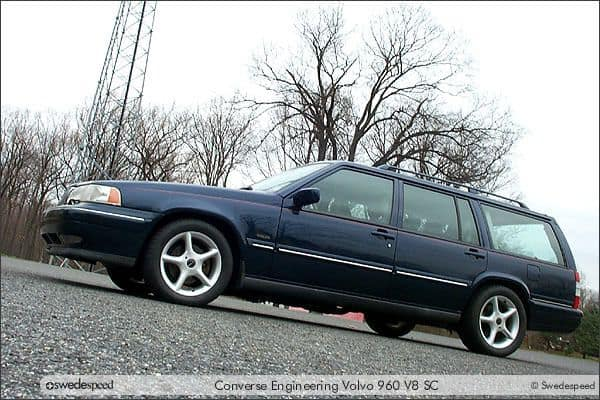 Volvo 960 with Supercharged Mustang V8 Swap