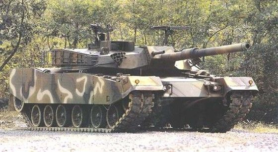 K1a1 Main Battle Tank In Camo