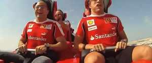 Formula Rossa – F1 Drivers on World's Fastest Roller Coaster