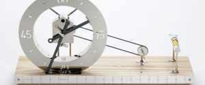 "Daniel Weil Designed ""Clock For An Architect"""
