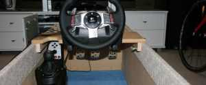 How To Build A Racing Simulator For GT5 For Cheap