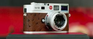 Leica M9 Camera Silver Chrome Edition