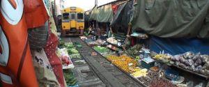 A Train Runs Through It (Bangkok Market)