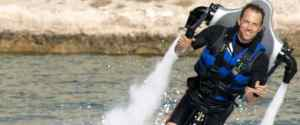 Jetlev R200 – Water Powered Jetpack for Personal Flight
