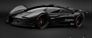 The Beautiful Incepto GT Concept Car