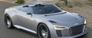 2014 Audi e-tron Spyder (Electric Concept Vehicle)