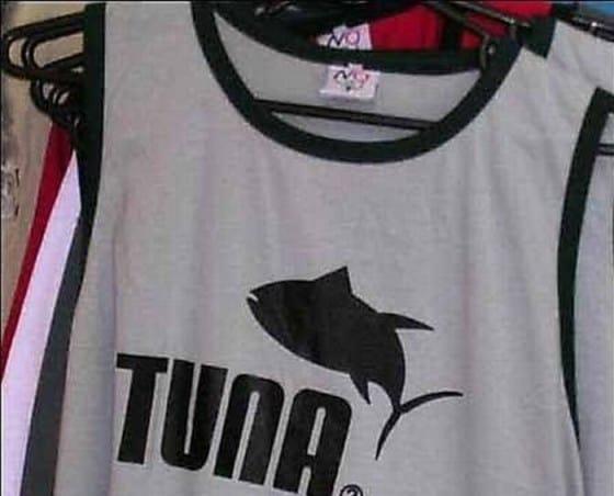 Puma knock-off called Tuna