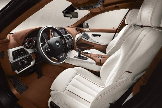 2013 BMW 6 Series Gran Coupe luxurious interior