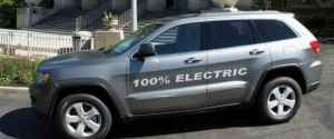 Jeep Grand Cherokee by Amp Electric Vehicles