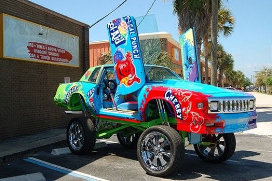 Kool Aid sponsored Donk Car