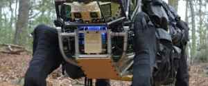 "The LS3 Robotic ""Pack Mule"" from DARPA"