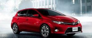 2013 Toyota Auris and Auris Hybrid