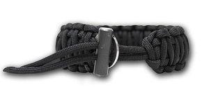 Fire Starter Paracord Survival Bracelet by Bison Designs