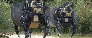 DARPA's Legged Squad Support System (LS3) Improved