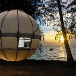 Suspended Cocoon Tree Tent