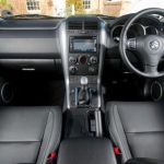 Interior of Suzuki Grand Vitara