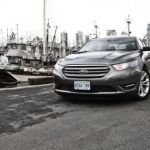 2013 Ford Taurus by ship docks