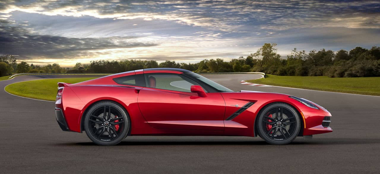2014 Corvette Singray side