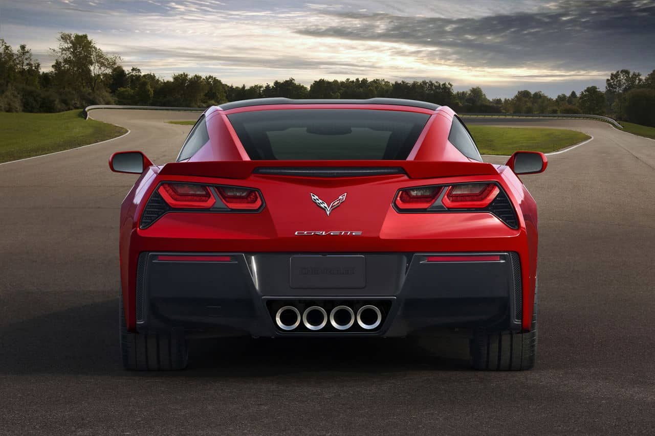 2014 Corvette Singray rear