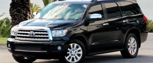 Armored Toyota Sequoia by Lexani Motorcars