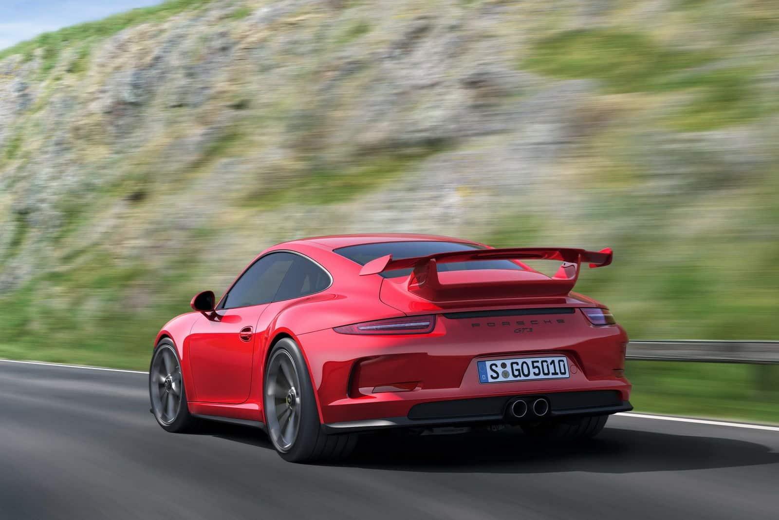 2014 Porsche 911 GT3 rear
