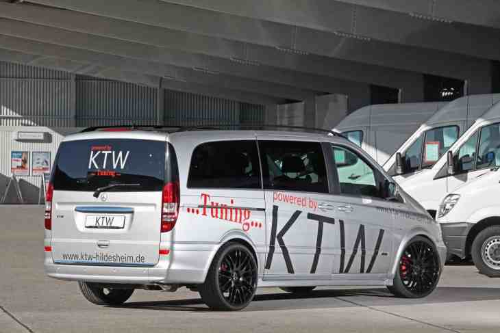 Mercedes Viano by KTW Tuning