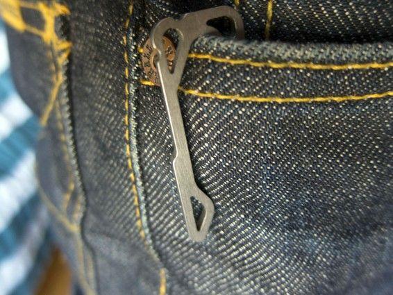 pickpocket pocketclip and bottle opener