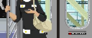 """8-Bit """"Subway Pixels"""" People… Portraits"""
