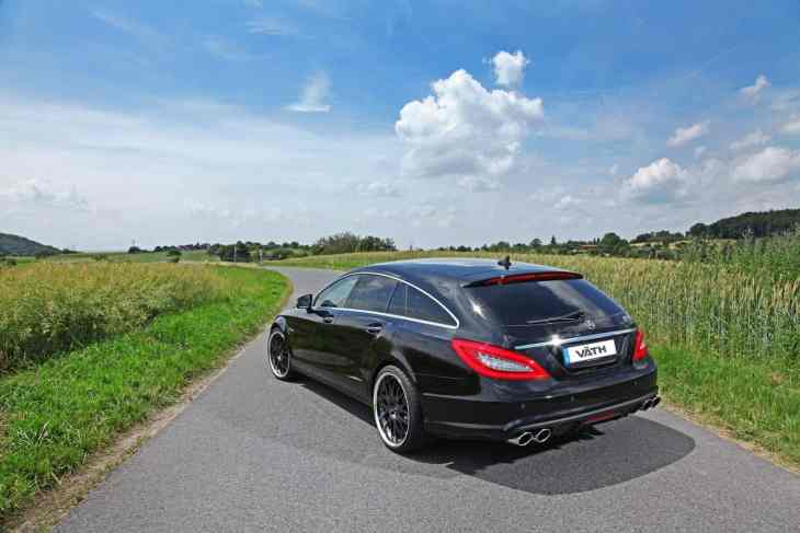 834hp Mercedes CLS by Vath