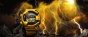 Limited Edition 30th Anniversary Lightening Yellow G-Shock Watches