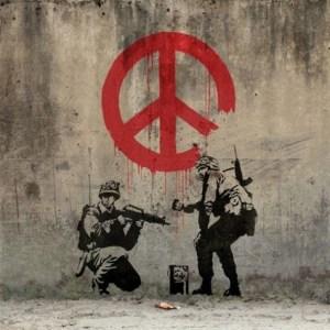 Banksy war and peace