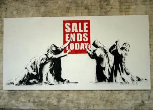 banksy sale ends