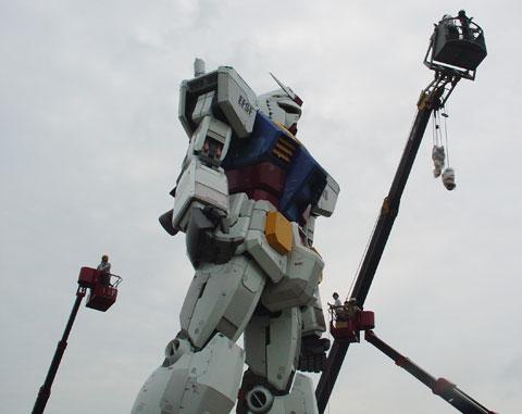 Gundam en la vida real