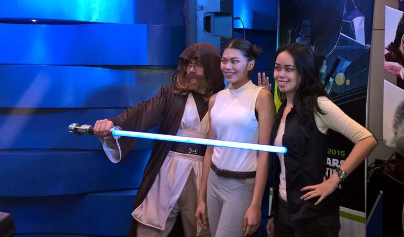 The Force is strong with these people!