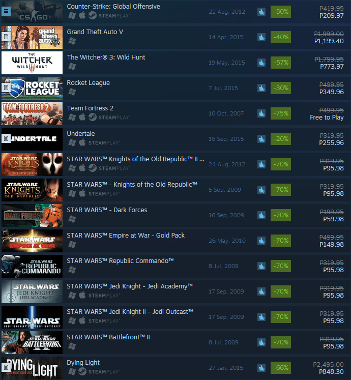 Just a small taste of the insane Winter Deals O_O