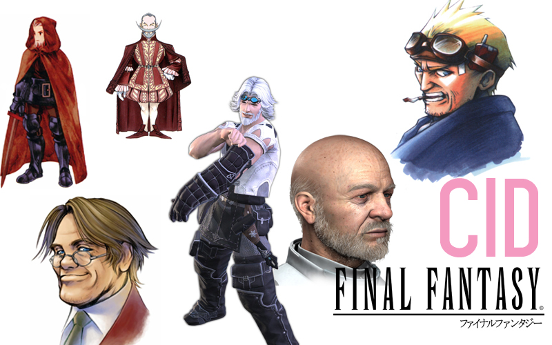 """Cid or in this case """"Sid"""" even made an appearance in the (sadly) atrocious Final Fantasy Spirits Within Movie."""