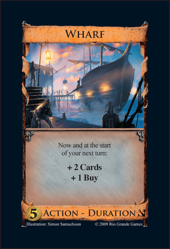 Empires might be a different take on the Duration cards of Seaside