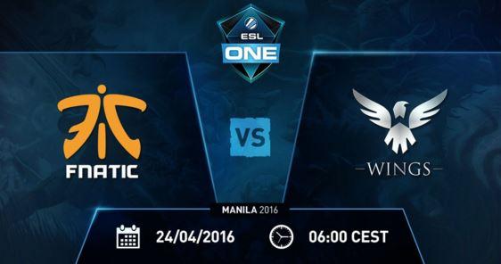 Wings vs Fnatic