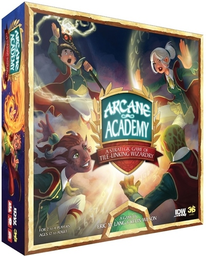 [PREVIEW] Arcane Academy – Another upcoming Boardgame Home Run from Eric Lang!