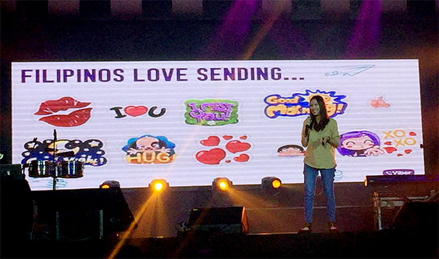 Popular Viber stickers sent by Pinoys