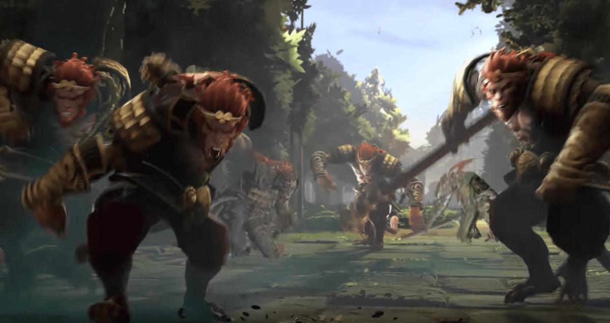 Dota 2 incoming update. Enter the New Hero: The Monkey King!