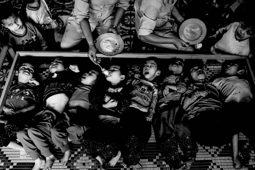 3rd Generation Victims of Agent Orange at the Ba Vi Orphanage in Vietnam by Justin Mott