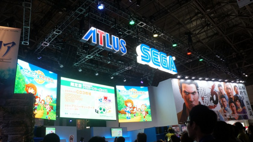 SEGA and ATLUS' shared stage!