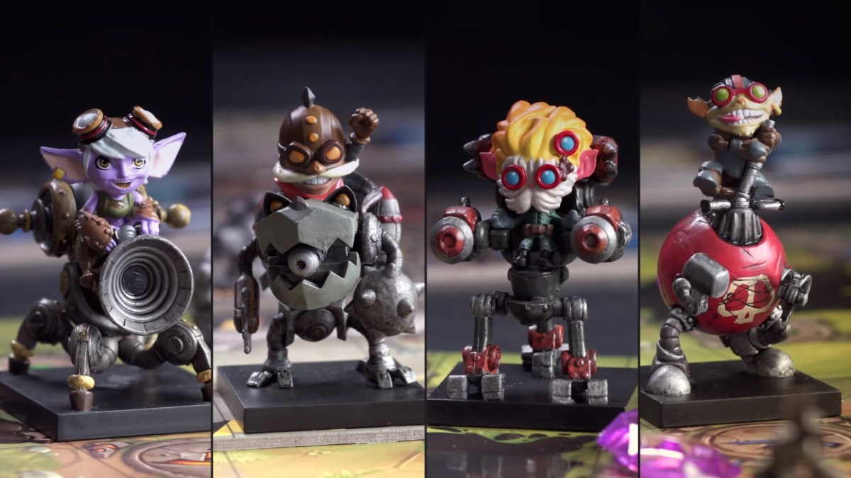 League of Legends Enters the Board Game Scene with Mechs VS Minions!