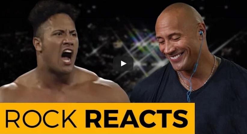 "Inspiring: Watch Dwayne ""The Rock"" Johnson React on His Very First WWE Match!"