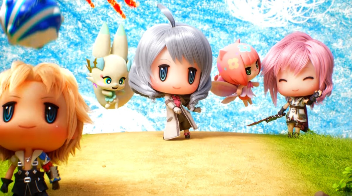 This Video of Cute Final Fantasy Characters Dancing will make you Squeal with Delight! | World of Final Fantasy